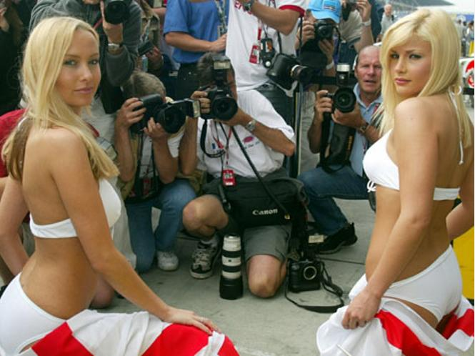 Grid Girls, Boxenluder