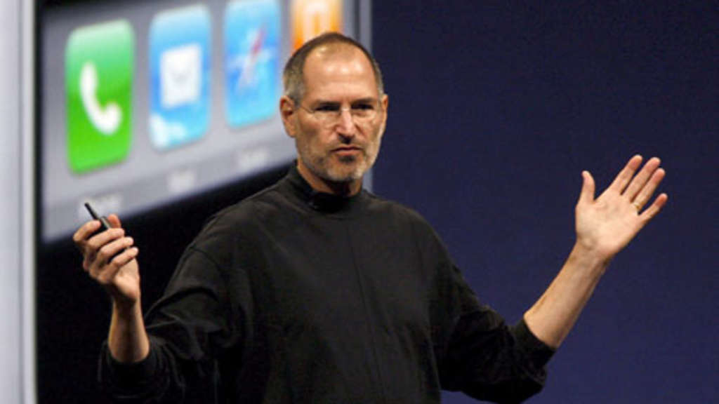Apple-Chef Steve Jobs.