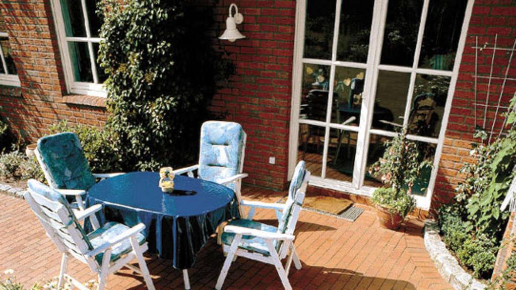 nat rliche sch nheit f r garten und terrasse wohnen. Black Bedroom Furniture Sets. Home Design Ideas