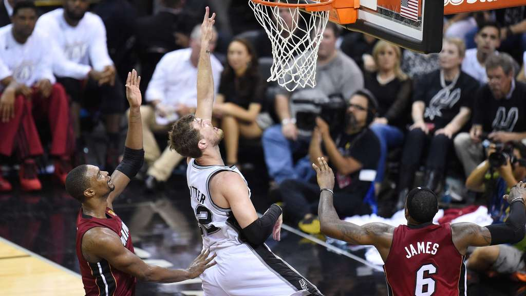 NBA-Finale, LeBron James, Tiago Splitter