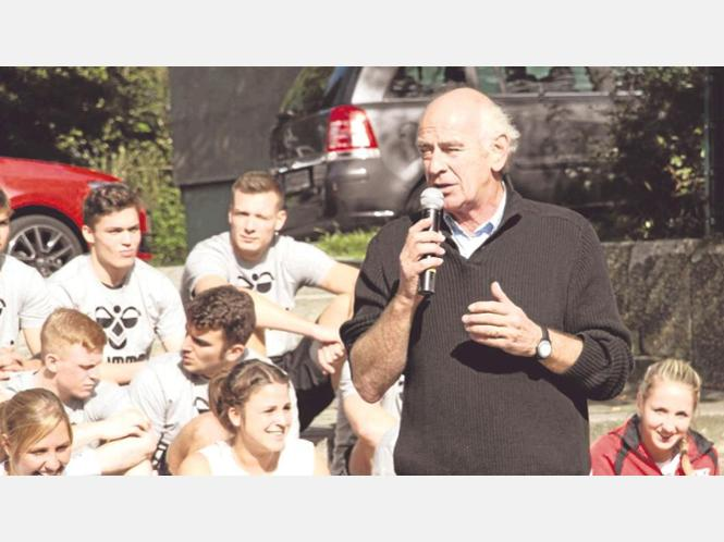Der Vorsitzende Klaus Soth gab seinen Abschied bekannt.