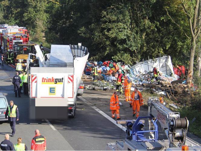 A1 Hinter Bockum Nach Tödlichem Unfall Gesperrt