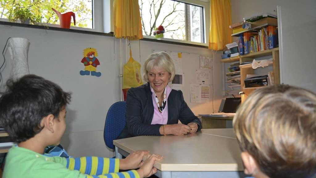 Birgitta von Rosenstiel, Schulleiterin der Lambertus Grundschule Walstedde.