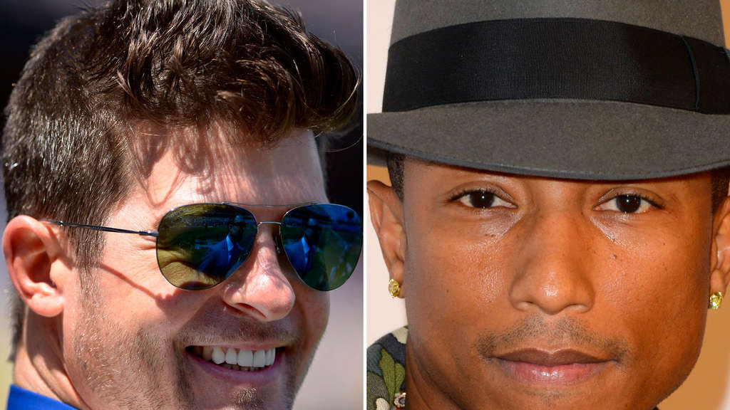 Robin Thicke und Pharrell Williams