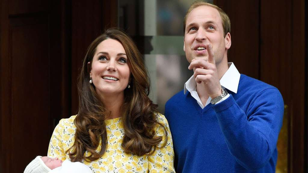 Herzogin Kate Prinz William Prinzessin Charlotte