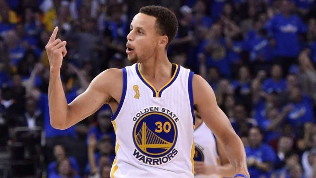 Stephen Curry erzielte 41 Punkte für die Golden State Warriors. Foto: John G. Mabanglo