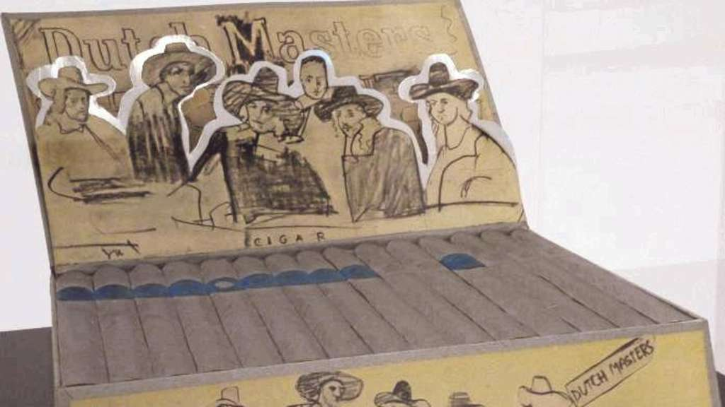 "Pop-Art mit Rembrandt: Die ""Dutch Masters Cigar Box""(1970) von Larry Rivers."