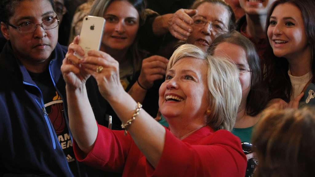 Hillary Clintion Campaign In Kentucky One Day Before State Primary