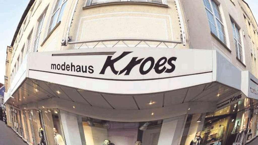 Modehaus Kroes in Werne als Gesamtbetrieb nicht zu halten