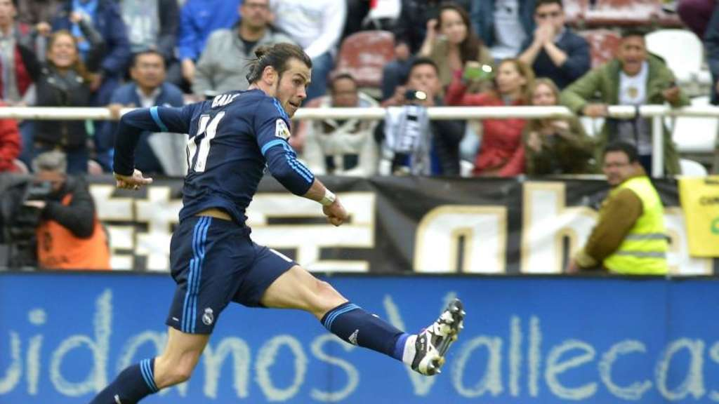 Real Madrids Gareth Bale in Aktion. Foto: Luca Piergiovanni