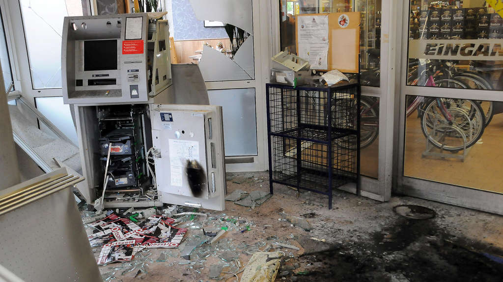 Geldautomat Sprengung