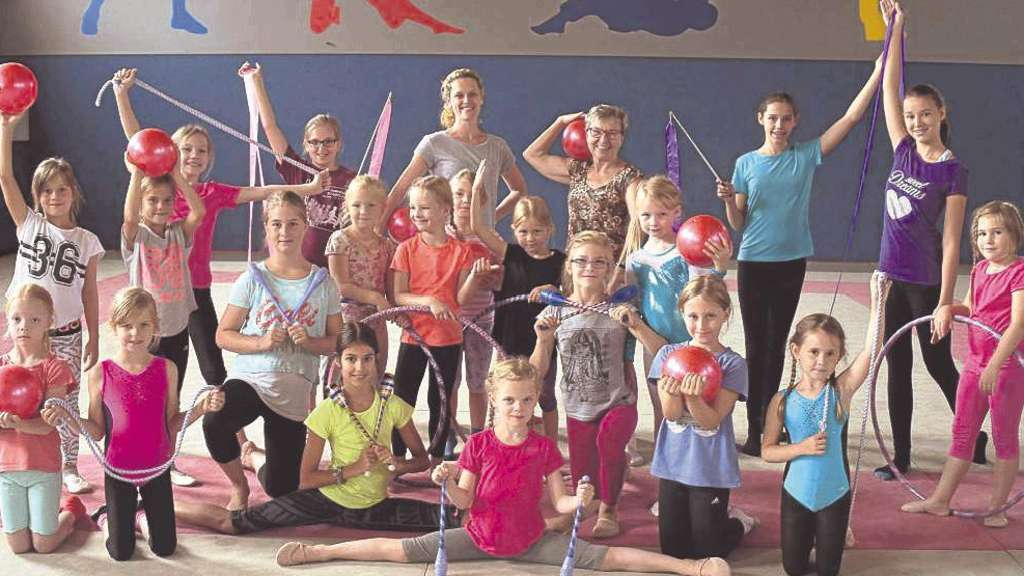 Rhythmische Sportgymnastik Feriencamp beim TV Werne hat