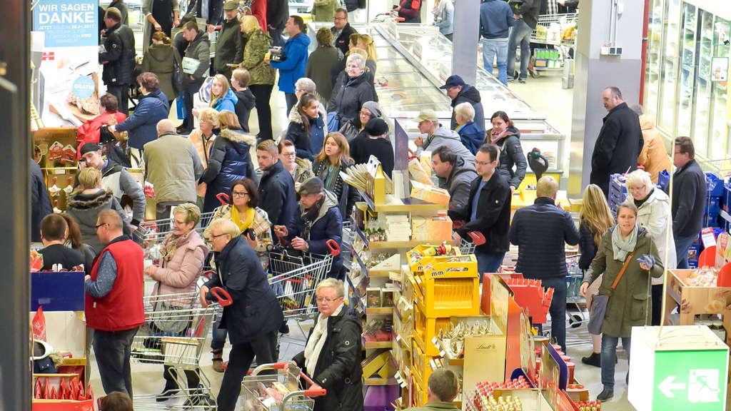 Verkaufsoffener Sonntag in Bockum Hövel durchwachsen