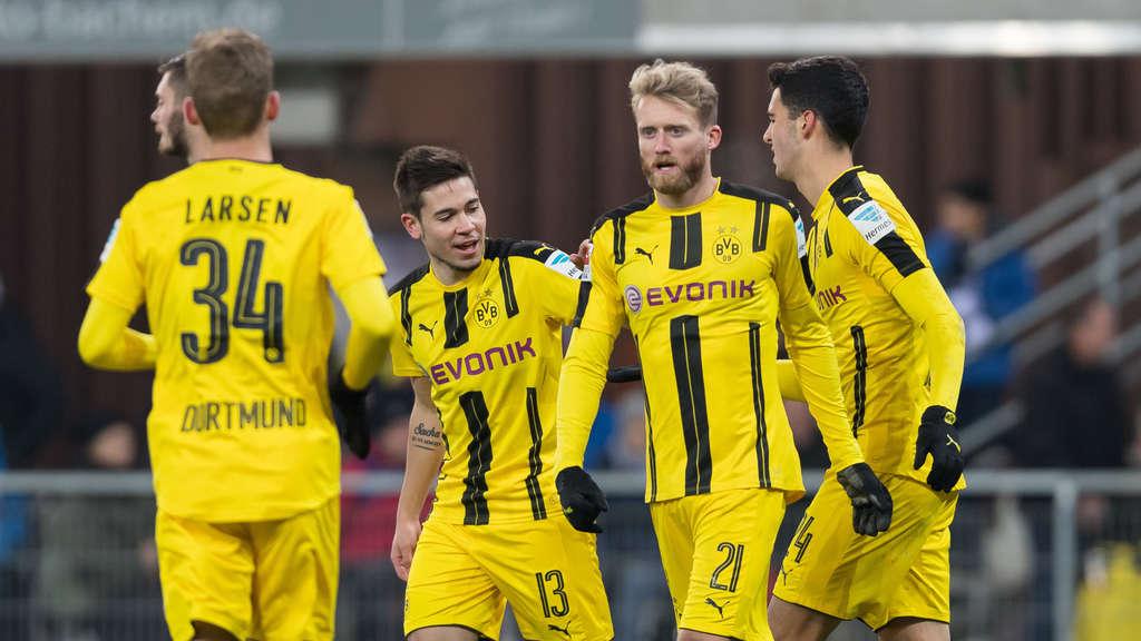 Bericht: Borussia Dortmund beobachtet Kasper Dolberg und Kylian Mbappe