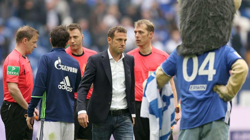 Die besten Reaktionen auf die rote Karte von Schalke-Maskottchen Erwin für