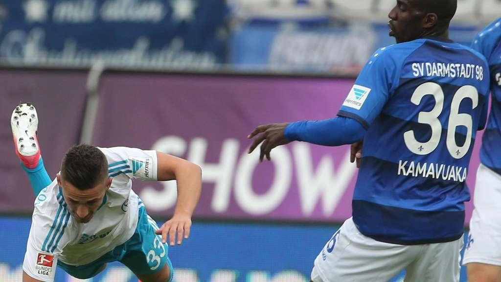 Darmstadt verhindert vorzeitigen Abstieg mit Last-Minute-Tor