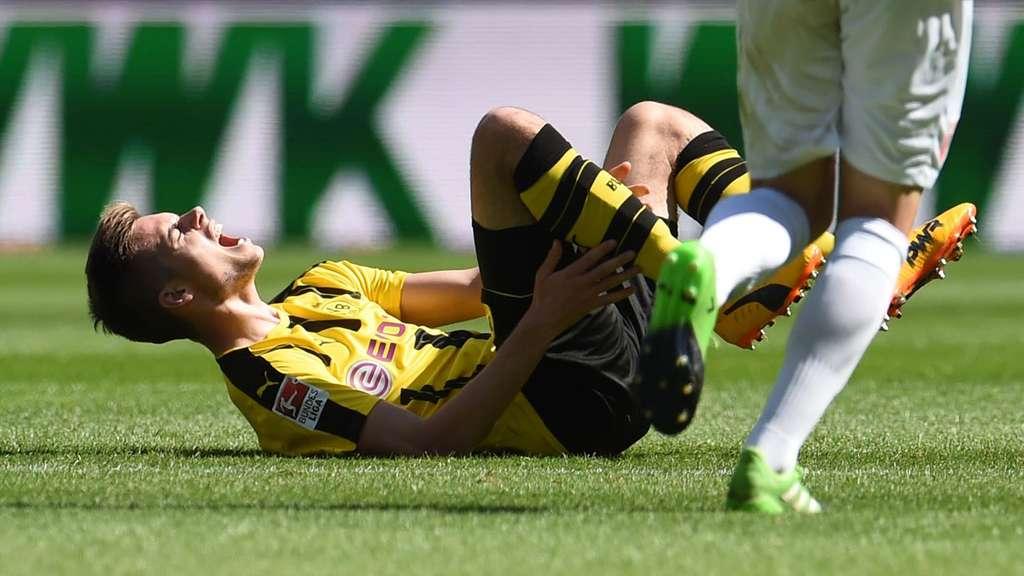 Fußball: Weigls Fußbruch schockt BVB -