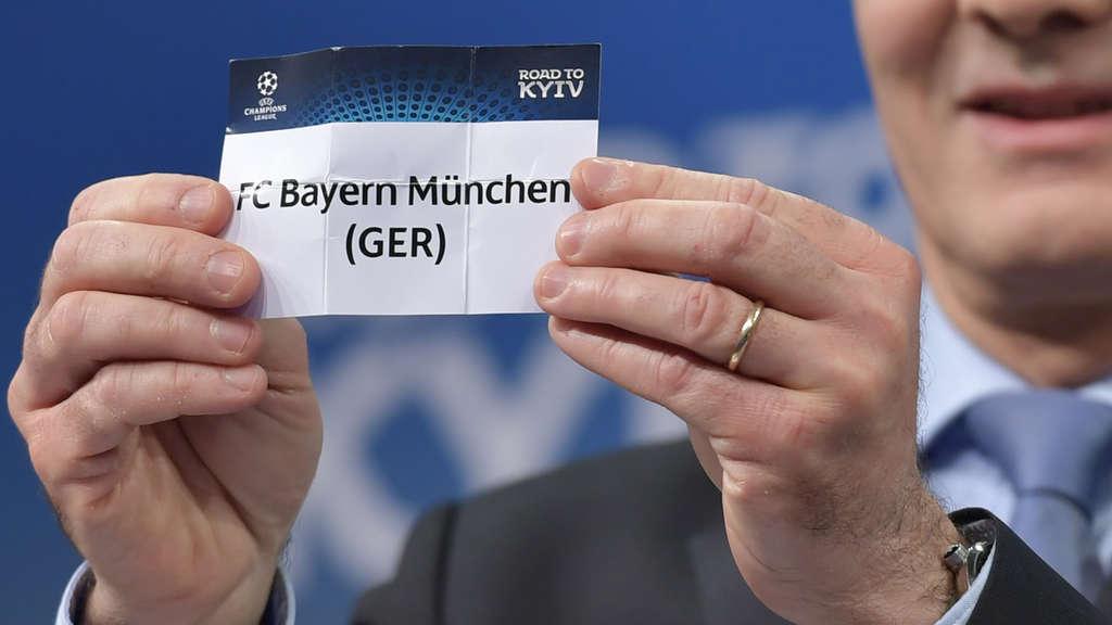 Auslosung: Die Begegnungen im Achtelfinale der Champions League stehen fest
