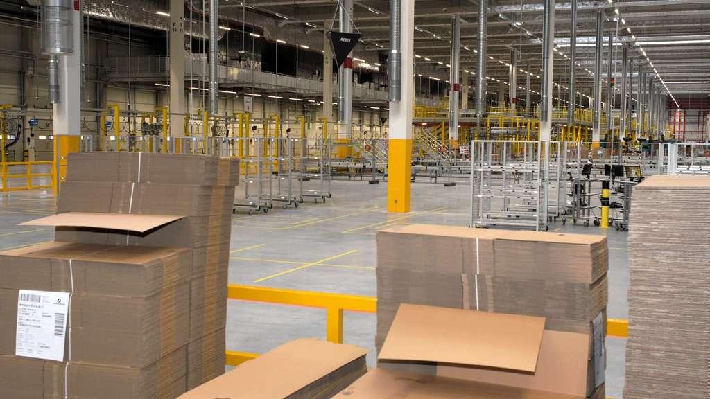 Verdi ruft zu Streiks bei Amazon in NRW auf