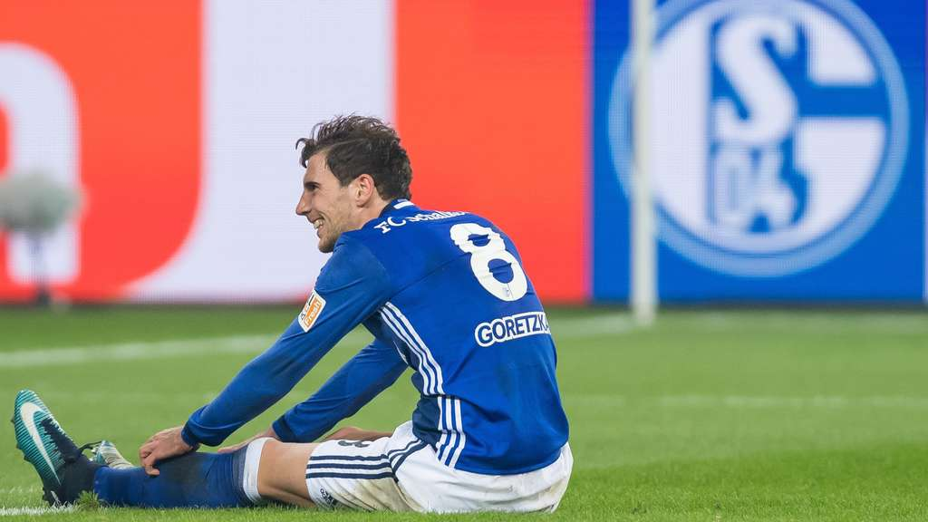 Spruchbänder und Pfiffe gegen sich aber drei wichtige Punkte mit Schalke eingefahren Leon Goretzka in Spiel eins nach Veröffentlichung seines Wechsel zum FC Bayern München