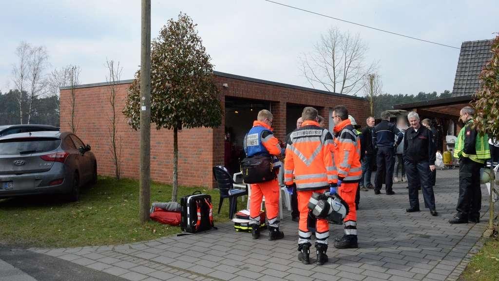 Heizpilz beendet Familienfeier: Neun Menschen im Krankenhaus