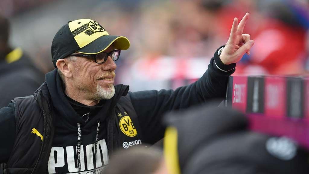 BVB-Coach Peter Stöger