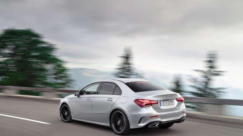 Limousine: Mercedes bringt A-Klasse als Stufenheck nach Europa