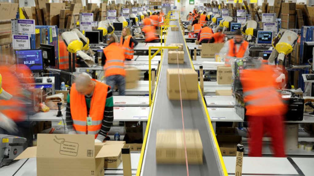 Verdi ruft im Weihnachtsgeschäft zu Streik bei Amazon auf