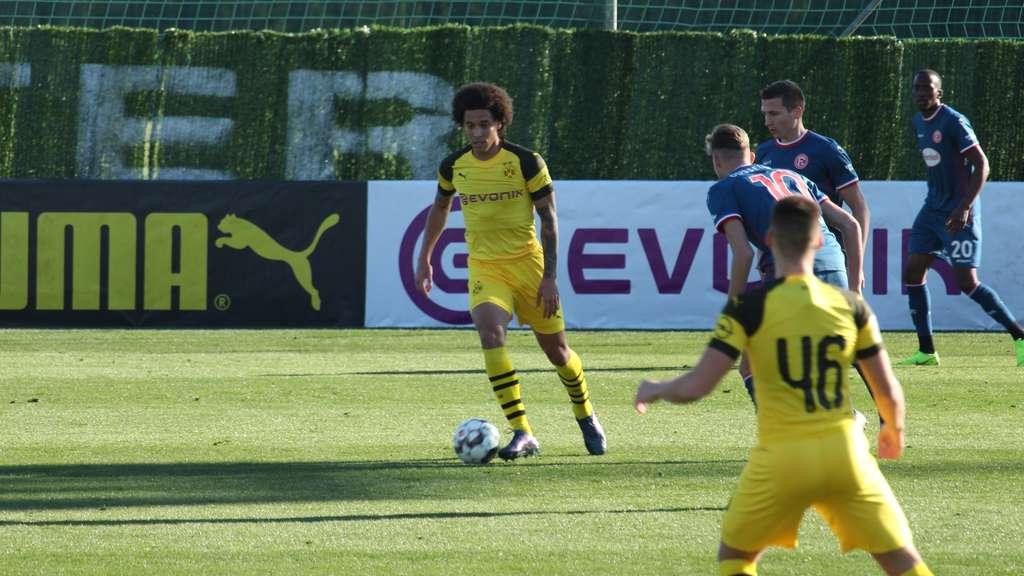Borussia Dortmund testet gegen Düsseldorf