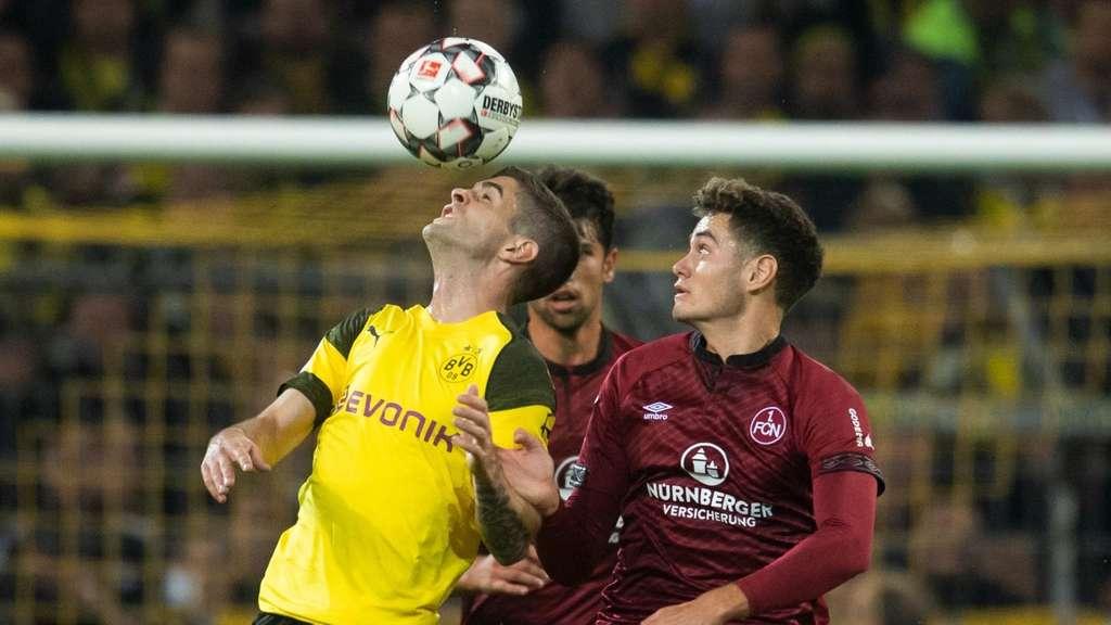 Dortmund kann auch Nürnberg nicht besiegen
