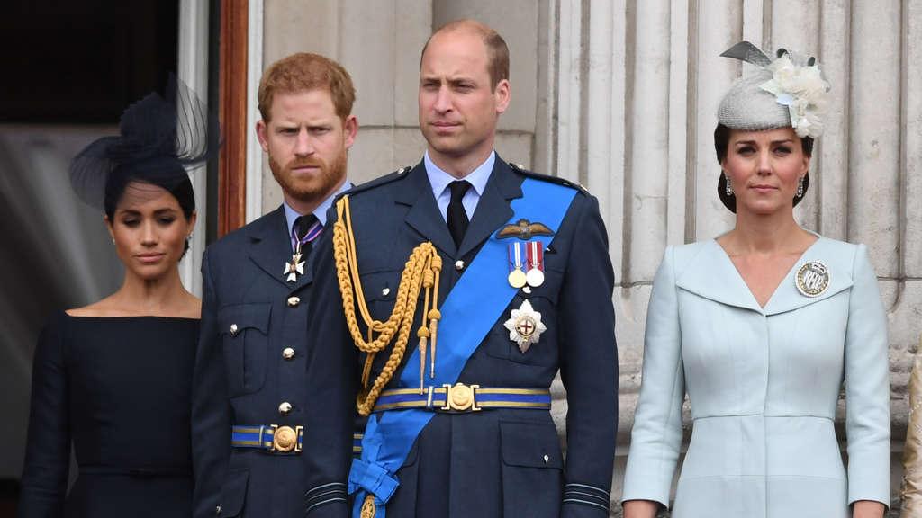 Herzogin Meghan soll für das Zerwürfnis zwischen Prinz Harry und Bruder William verantwortlich sein