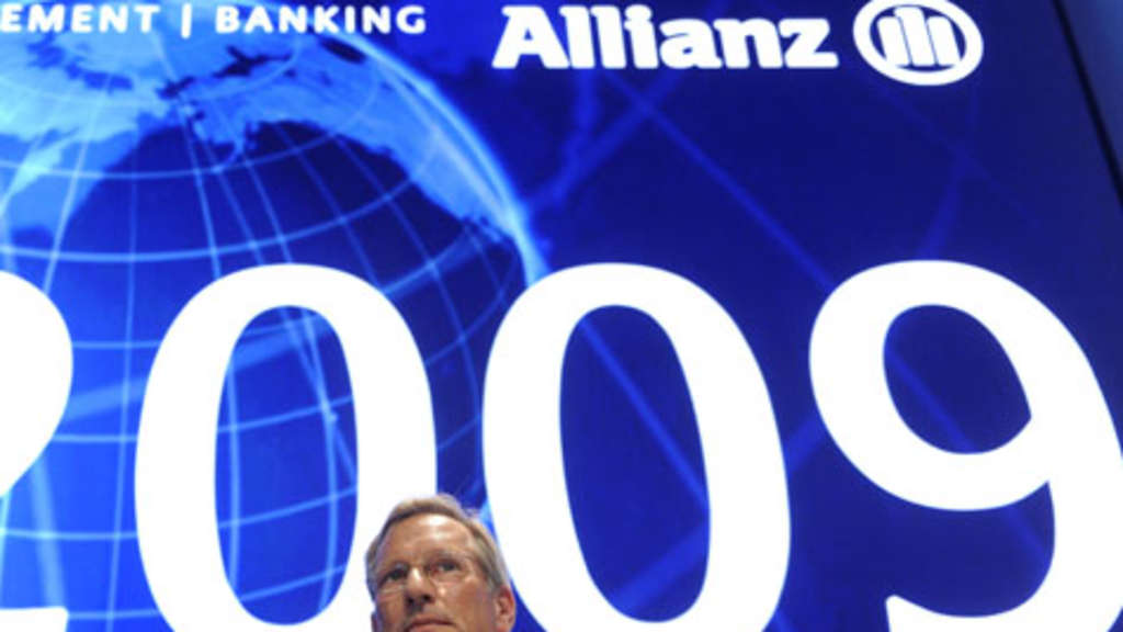 Allianz-Chef Michael Diekmann. Allianz legt Zahlen vor.