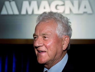 Frank Stronach, Vorsitzender der Magna International Inc.