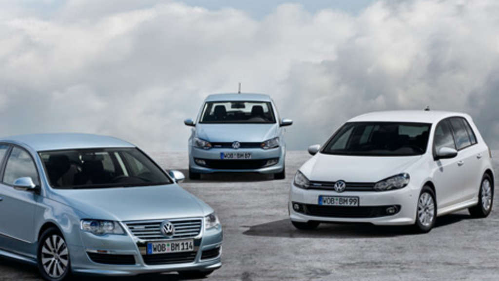 VW Blue Motion Passat Golf Polo