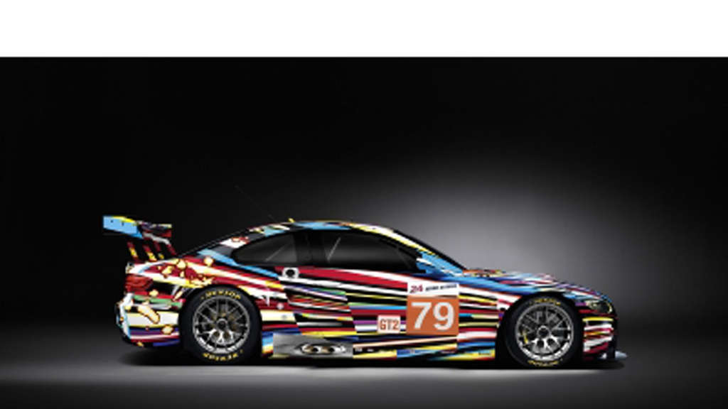 BMW M3 GT2 Jeff Koons