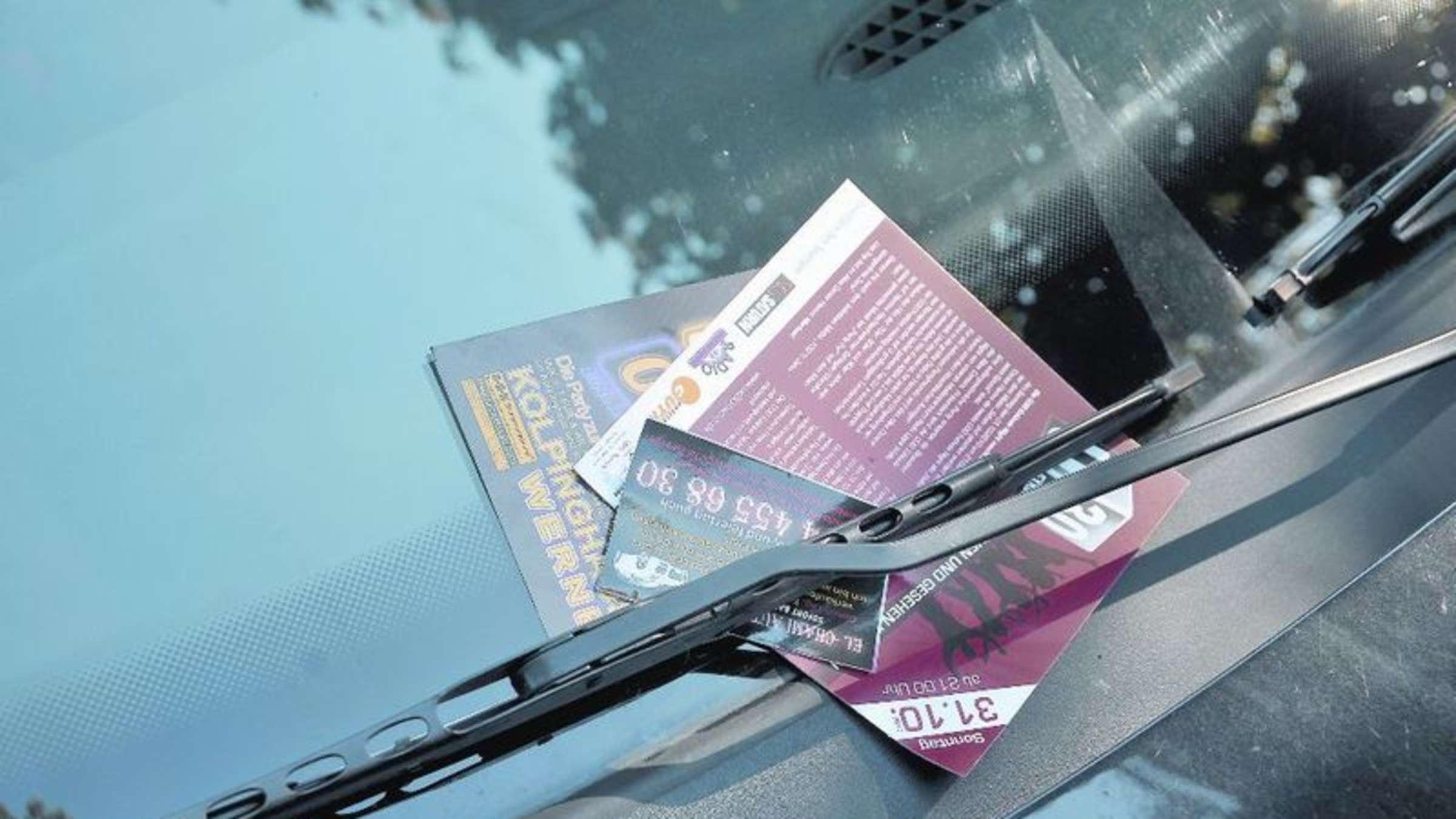Reklame Darf Nur Mit Zustimmung Des Ordnungsamtes An Autos