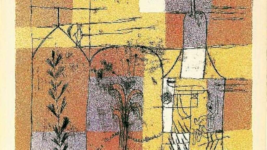 Picasso Museum Munster Zeigt Grafik Von Paul Klee Kultur