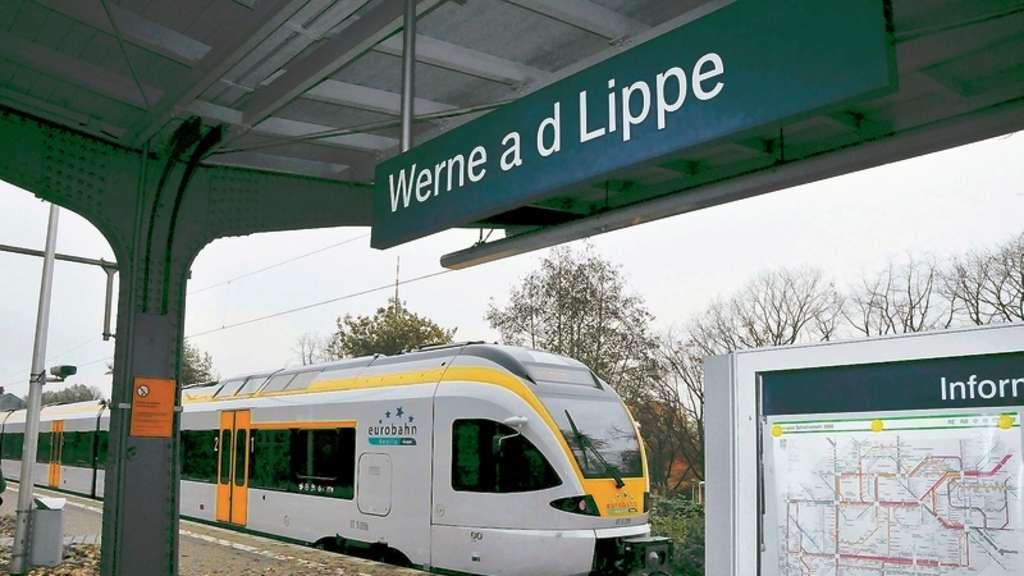 Bahnstrecke Werne Münster Wird über Das Pfingstwochenende Gesperrt