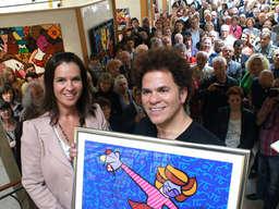 Galerie Mensing Hamm die superstars sorgen in hamm für besucherandrang hamm