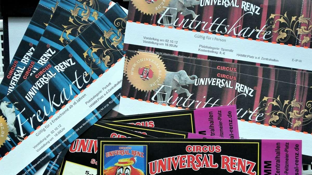universal renz wirft zu viele freikarten auf den markt und sorgt f r reichlich unmut hamm. Black Bedroom Furniture Sets. Home Design Ideas