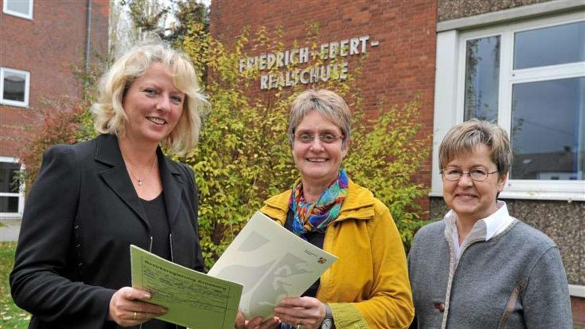 Sabine Prausner Ist Neue Rektorin Der Friedrich Ebert Realschule In