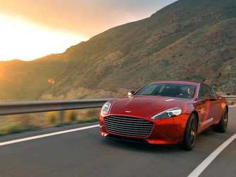 Luxus-Power: Der neue Aston Martin Rapide S
