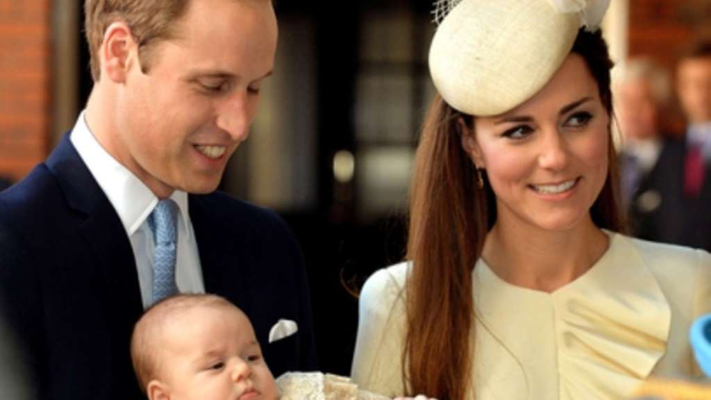 Prinz George Prinz William Kate Middleton