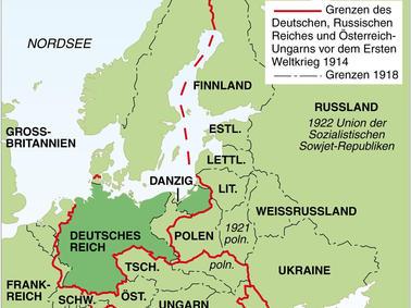 Deutsche Karte Vor Dem 1 Weltkrieg.Der Erste Weltkrieg 1914 Bis 1918 Eine Chronik