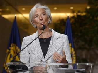 Ukraine, Christine Lagarde