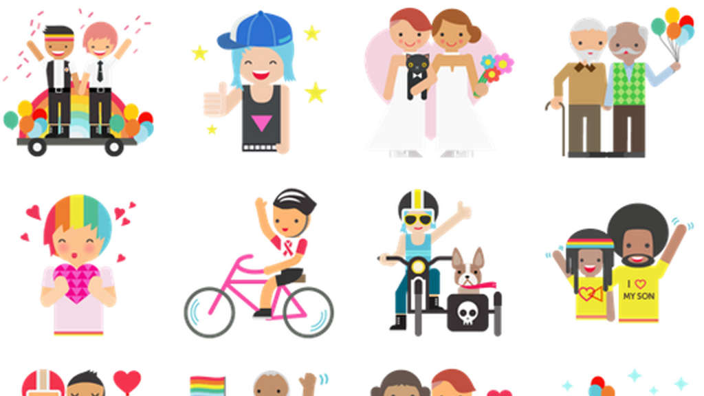 Facebook, Sticker, Gay Pride