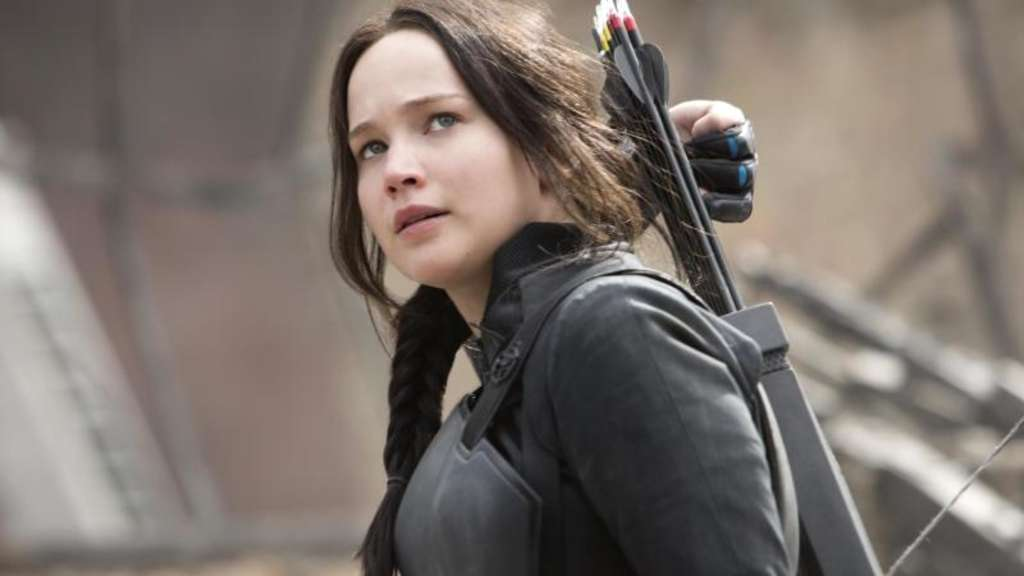 Jennifer Lawrence als Katniss Everdeen. Foto: Murray Close/Studioncanal