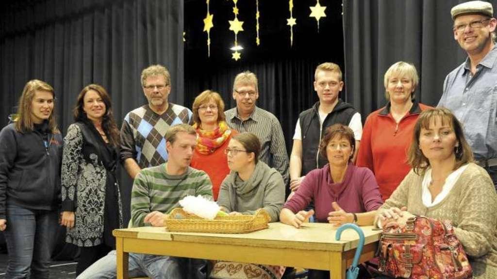 Theaterverein dankt dem Himmel Overberger proben für die 66 ...
