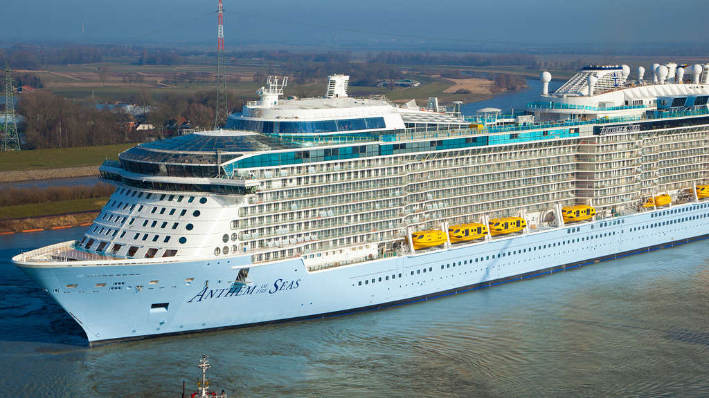 "Kreuzfahrtschiff ""Anthem of the Seas""."