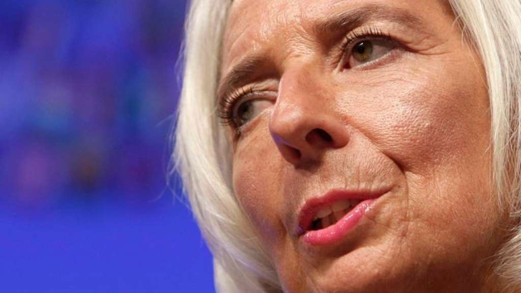 Christine Lagarde.